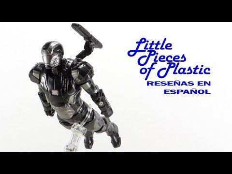 War Machine Marvel Legends Hulkbuster Series Juguete Reseña Toy Review Little Pieces Plastic
