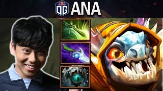 OG.ANA BEST CARRY USES SLARK IN 7.24 - DOTA 2 PRO GAMEPLAY