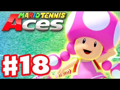 Mario Tennis Aces - Gameplay Walkthrough Part 18 - Toadette! Online Tournament! (Nintendo Switch) - 동영상
