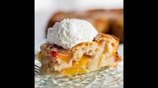 Nectarine Cobbler Recipe - How To Make Nectarine or Peach Cobbler