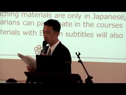 The 26th EAJRS conference, Leiden – Oshiba Tadahiko