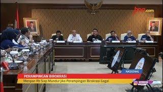 Tjahjo Kumolo Mundur Jika Pemangkasan Jabatan Eselon di KemenPAN-RB Gagal - JPNN.com