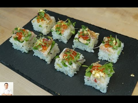 LIVE!! Crawfish Osaka Sushi - How To Make Sushi Series