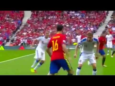 Футбол Евро-2016 Испания-Чехия 1:0 Обзор матча 13.06.2016
