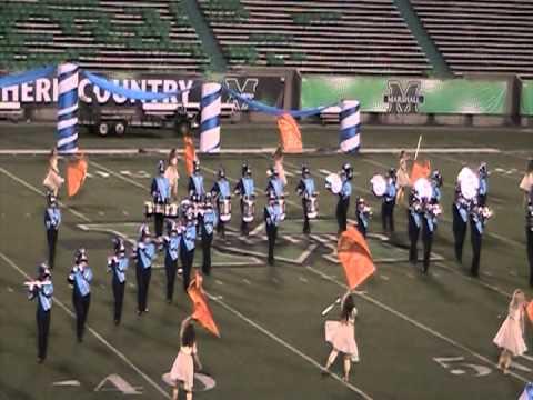 Spring Valley High School band (drumline focus) 2012-Tri-State 2012