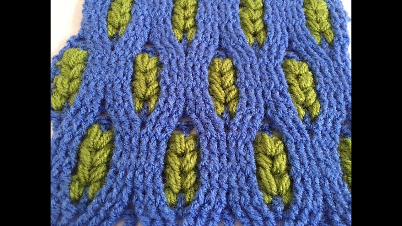Crochet Pattern  Wheat Crochet Stitch  Cable Pattern