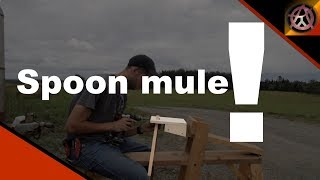 Super simple Spoon mule attachment for your shave horse!