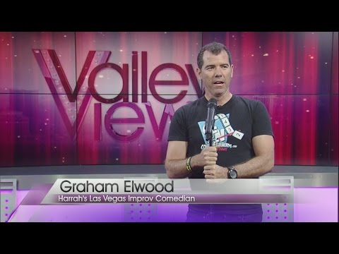 Comedian Graham Elwood performs on Valley View Live!