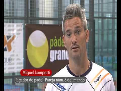 Reportaje De Teledeporte A Miguel Lamperti Jugador De Padel Nox