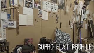 GoPro Flat Profile vs Color Graded using VideoGrade