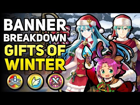 Winter Fae, Ephraim, & Eirika! (Our 1st Armored Healer) | Banner Breakdown - Gifts of Winter