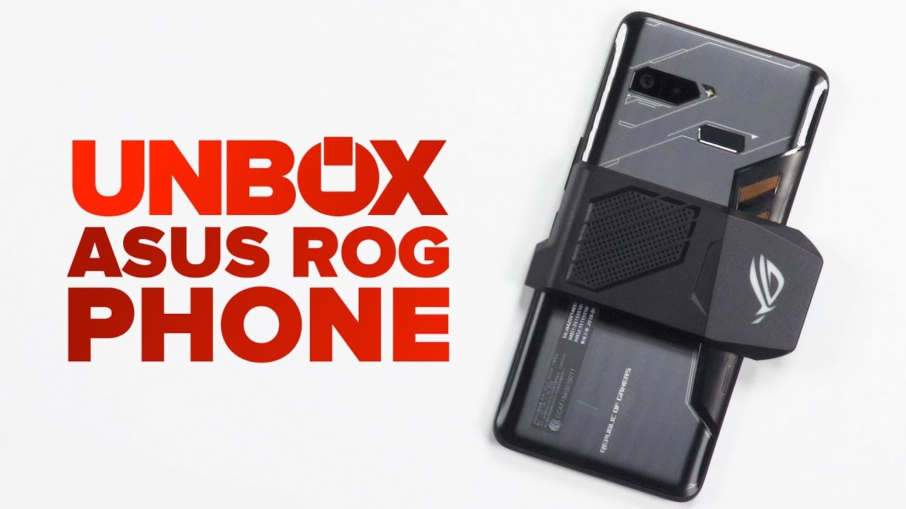 Asus Rog Phone Unboxing Youtube