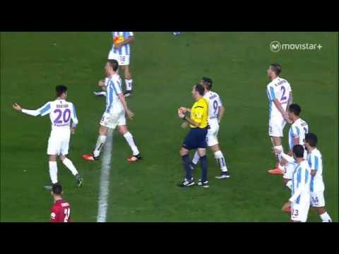 Malaga 1-0 Atletico de Madrid RESUMEN J16 LaLiga