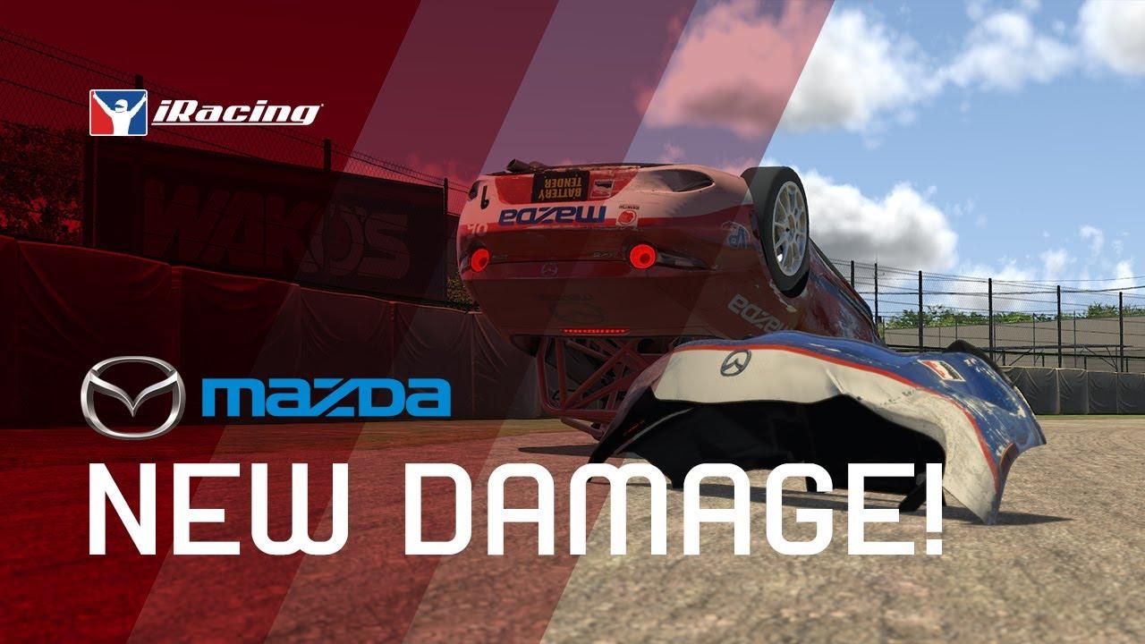 iRacing MX5 gets new damage model