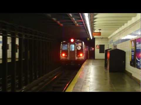 FASTRACK IND 6th Ave Line: R160A-2 Q Train at Grand St-Chrystie St (Late Nights)