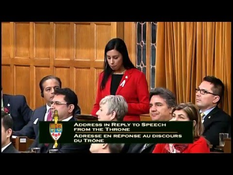 MP Ruby Sahota Seconds Motion for Speech from the Throne