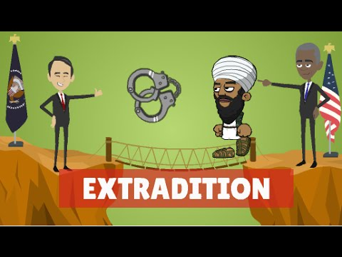 Extradition of Criminals , Explained - International Law Animation  - By Hesham Elrafei