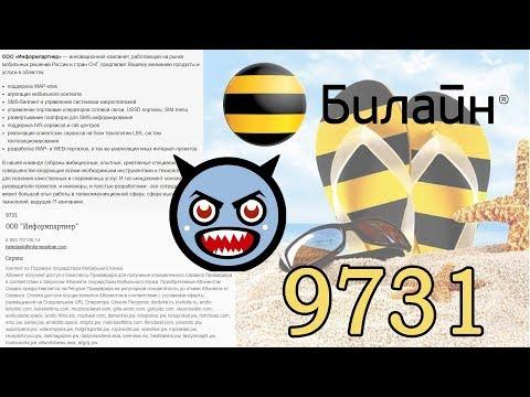 Как отключить услугу 9731 на билайне