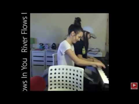 River Flows in You (Piano) - Merrell Twins