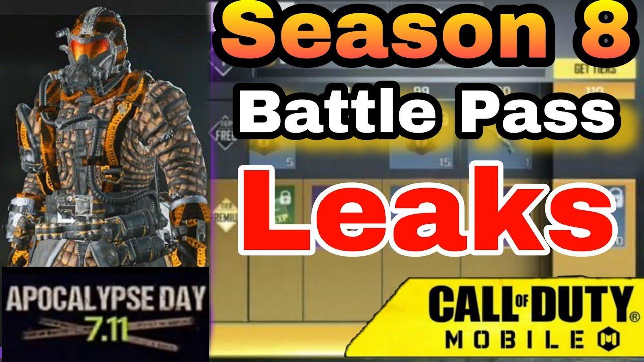 Season 8 Battle Pass Cod Mobile Call Of Duty Mobile Season 8
