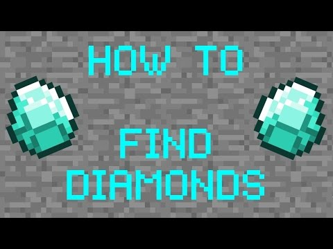 BEST WAY TO FIND DIAMONDS in MCPE!! Find Diamonds in less than 5 Minutes! Minecraft PE from YouTube · Duration:  4 minutes 57 seconds