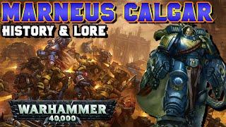 Marneus Calgar, Chapter Master of the Ultramarines History & Lore | Warhammer 40,000