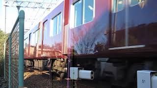 阪急神戸線 6000系6016F+7000系7000F 通勤特急 阪急梅田 行 岡本~御影 通過