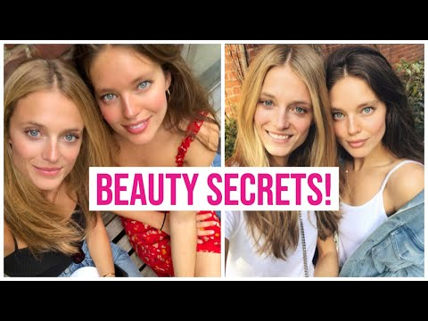 Model Beauty Secrets With Kate Bock and Emily DiDonato!