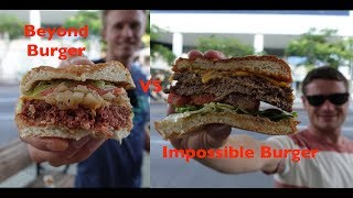 Impossible Burger vs Beyond Burger: Which one is better?