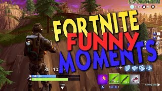 Fortnite Funny Moments - T--Val and his rocket rides!