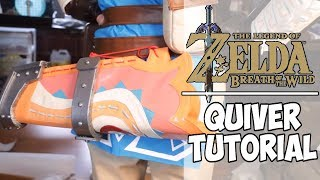 Leather Quiver Tutorial | BOTW Link Cosplay