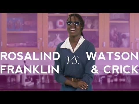Rosalind Franklin vs. Watson & Crick - Science History Rap Battle