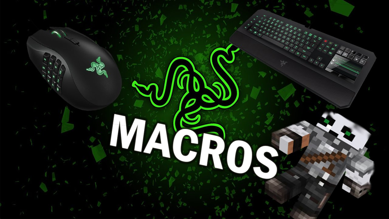 How To: Create a Macro in Razer Synapse - [Minecraft Rapid ...