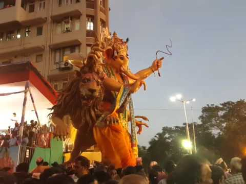 GANESH GALLI MUMBAI CHA RAJA GANPATI...
