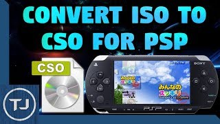 How To Convert ISO Games To CSO For PSP! (Save Storage)