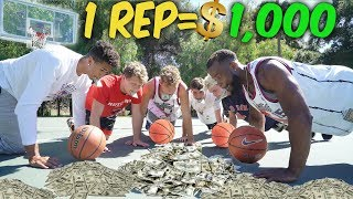 1 REP=$1000 Dollars 3 Point Challenge with 2HYPE!!