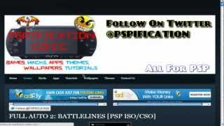 Download Free PSP ISO/CSO Without surveys {2012} [HD]