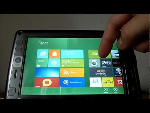 HTC Shift X9500 Windows 8 Developer Preview x86 PC notebook tablet HD 720p www.iPDA.cz