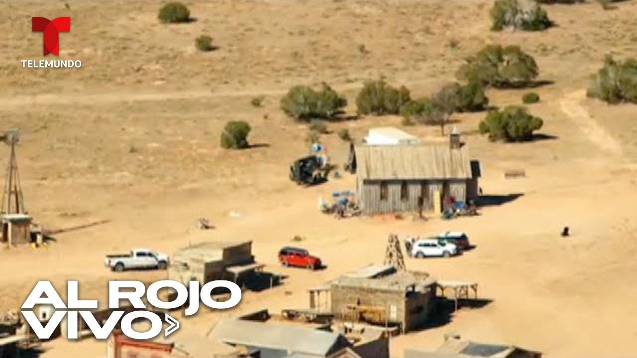 Download Tomas aéreas del set de la película de Alec Baldwin donde ocurrió un trágico accidente