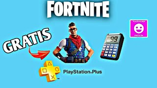 GET THIS FREE SKIN WITHOUT PS PLUS FOR FORTNITE - *METHOD*