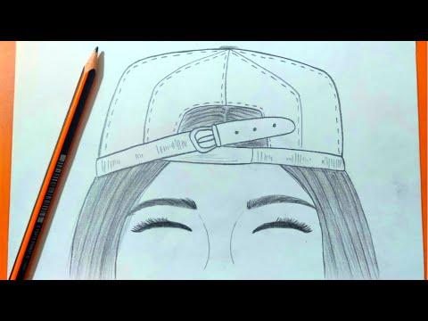 رسم بنات تعليم رسم بنت بقلم الرصاص بطريقة سهلة وبسيطة طريقة
