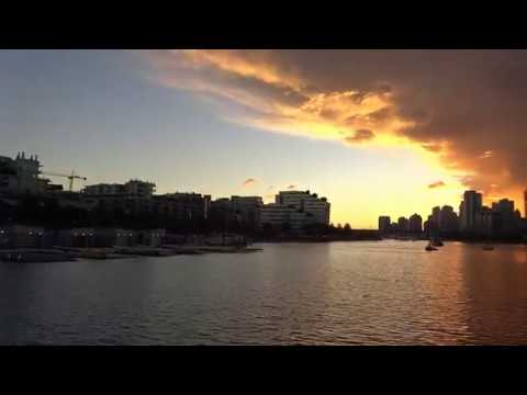 Vancouver Waterfront - Awesome Sunset - September 20th 2016