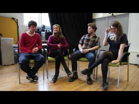 Four Shakespeare in Performance students