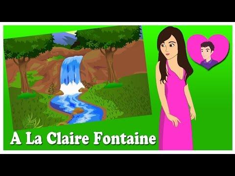 A La Claire Fontaine | Chanson enfantine | comptines françaises