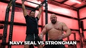 WHO CAN DO MORE PULL-UPS? NAVY SEAL VS 4X WORLDS STRONGEST MAN