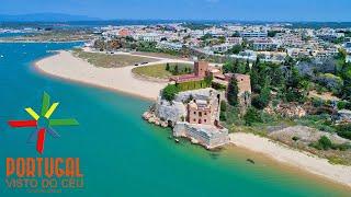 Ferragudo - Castelo do Arade - Praia da Angrinha - F1 Motonautica Portimão - 4K Ultra HD