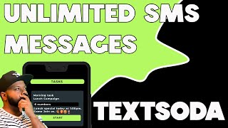 Send unlimited sms / mms messages using textsoda screenshot 3