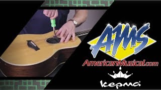 Kepma AcoustiFex Go Pickup Installation Video - American Musical Supply