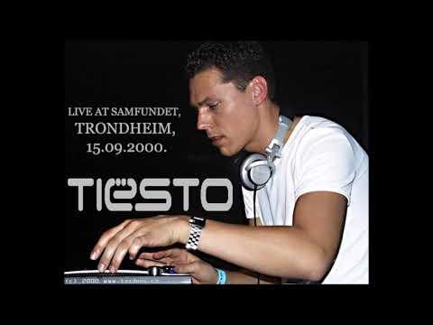 DJ Tiesto Live At Samfundet, Trondheim, 15.09.2000.