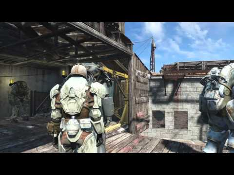 Enclave, the Castle and Spectacle Island Fallout4 Live Broadcast